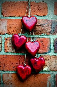 red-heart-on-a-brick-wall